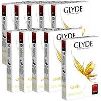 """Glyde Ultra """"Vanilla"""" Vorteilspackung: 10 x 10 vegane Kondome preisvergleich bei billige-tabletten.eu"""