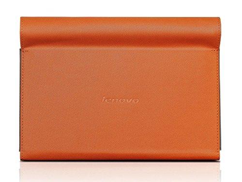 Lenovo 888015975 Ultra Slim umklappbare Schutzhülle für Yoga Tablet (8 Zoll) inkl. Bildschirmschutzfolie orange