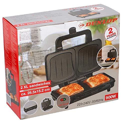 Dunlop 12203 Sandwich-Toaster XL