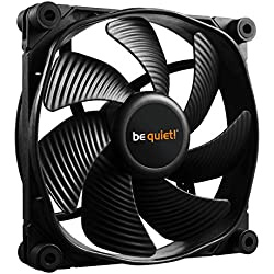 be quiet! SilentWings 3 PWM Computer case Fan - Computer Cooling Components (Computer case, Fan, 12 cm, 2200 RPM, 28.6 dB, 73.33 cfm)