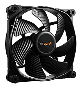 be quiet! SilentWings 3 PWM Computer case Fan - Computer Cooling Components (Computer case, Fan, 12 cm, 1450 RPM, 16.4 dB, 50.5 cfm)