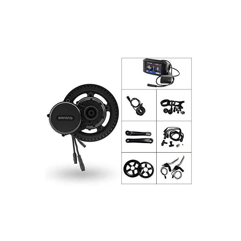 Bafang Electric Bike Motor Kit Mid Drive 500W 48V Bicycle Conversion Kit Ebike Components Kit Electric Bicycle Motor…