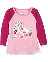Hatley Pretty Horses Raglan Tee, T-Shirt Fille