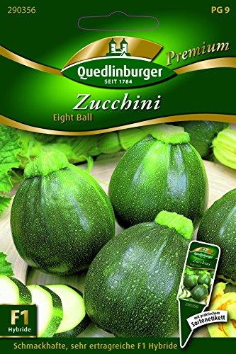 Zucchini Eight Ball,