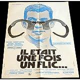 IL ETAIT UNE FOIS UN FLIC Affiche de film 60x80-1972 - Michel Constantin, Georges...