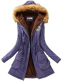 big sale e7031 e964f Corti Donna Piumini Invernali Donna Amazon Abbigliamento it ...