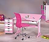 Links 99800350 Kinderschreibtisch Schülerschreibtisch Schreibtisch Kinderzimmer Tisch, rosa - 16
