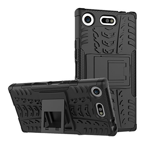 Preisvergleich Produktbild FoneExpert® Sony Xperia XZ1 Compact Handy Tasche,  Hülle Abdeckung Cover schutzhülle Tough Strong Rugged Shock Proof Heavy Duty Case Für Sony Xperia XZ1 Compact