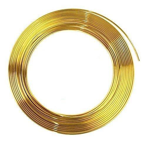 Türkantenschutz 6m in Gold für Auto - U-Profil HOCHFLEXIBEL - ZUSCHNEIDBAR - Selbstklebend - Witterungsbeständig Pkw Kfz