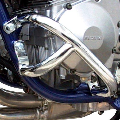 Defensa de motor Fehling Suzuki Bandit 600 S 96-04 plata