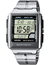Casio Wave Ceptor – Herren-Armbanduhr mit Digital-Display und Edelstahlarmband – WV-59DE-1AVEF
