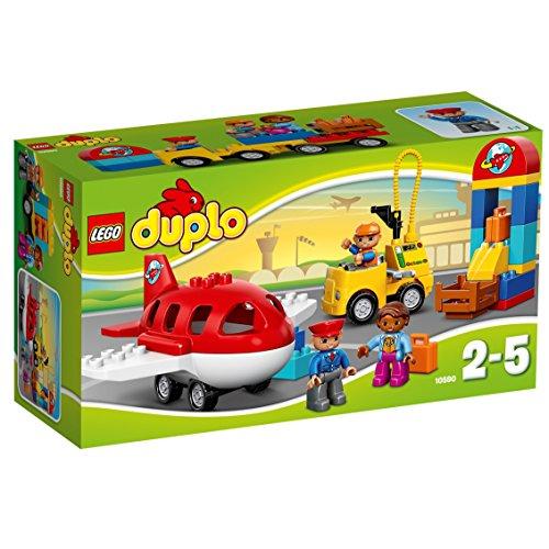 LEGO Duplo 10590 - Flughafen, Spielzeug für drei Jährige Kinder