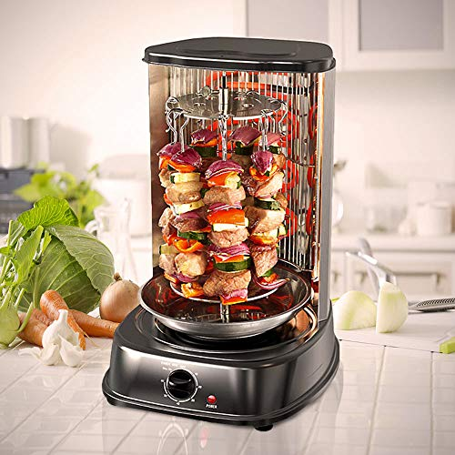 MonsterCadeaux - Mini Grill à kebaps pour la Maison -...