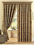 Maybury Pencil Pleat Curtains in Terracotta