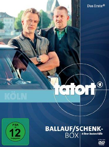 Tatort: Ballauf/Schenk-Box [4 DVDs]