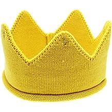 FEITONG Nuevo lindo Bebé Chicos Chicas Corona Sombrero de la venda del Knit