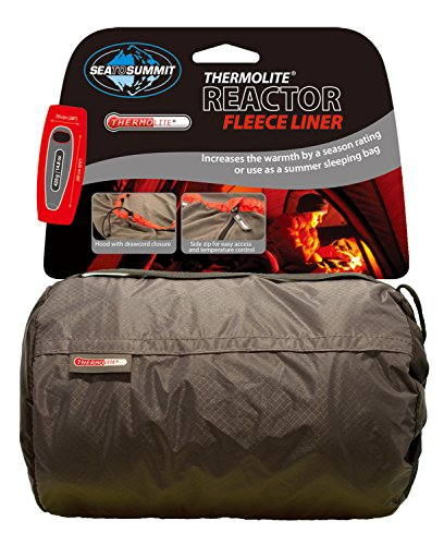 Sea to Summit Liner Thermolite Reactor Fleece Hood, Farbe Grey (Fleece Liner)