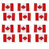 ma-on 12Hand winkt Kanada Canadian National Flaggen