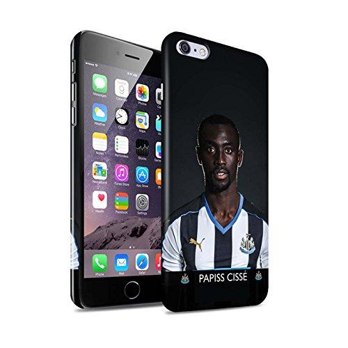 Offiziell Newcastle United FC Hülle / Glanz Snap-On Case für Apple iPhone 6+/Plus 5.5 / Pack 25pcs Muster / NUFC Fussballspieler 15/16 Kollektion Cissé