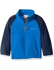 Columbia Glacial polar 1/2Zip para niño Super Blue/Collegiate Navy fr: XS (talla fabricante: XS)