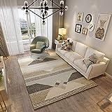 QIAOXC Flanell Fußmatten Hundedruck Fußmatten Hall Teppiche Indoor Home Schlafzimmer Küche Badezimmer Teppich (Farbe : H, größe : 300 * 400CM)
