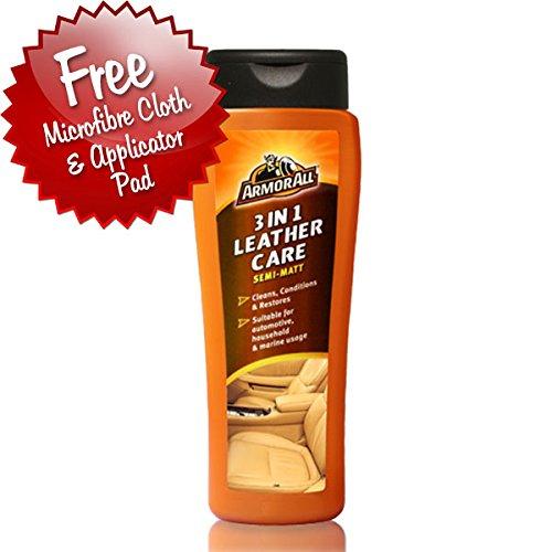 ArmorAll de voiture 3en 1Nettoyant pour cuir et après-shampoing * * gratuit kit d'application * *
