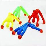 Isuper Funny Wall Stick Doll Toy Children Kids Boy Spider-man Superman Mini Figure Toys Dolls