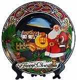 Island Turf Crafts Babbo Natale in ceramica piastra 20cm