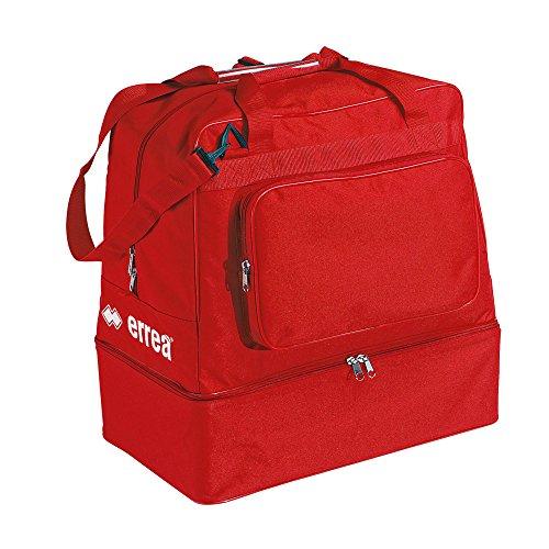 Borsone errea borsa basic rosso con fondo rigido