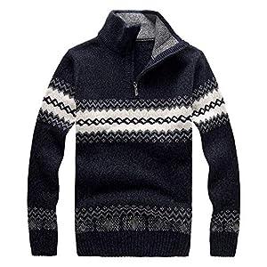 Herren Langarmshirt Shirt Pullover Longsleeve Basic Sweatshirt Sweater Strickpullover Bohemien Drucken Pullover Pulli Angebote Von EUZeo Winter