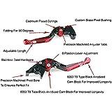 Alcoa Prime Adjustable Folding Extendable Brake Clutch Levers For Aprilia MILLE/R BLU BS5