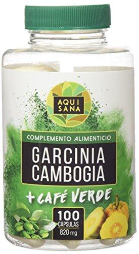 GARCINIA CAMBOGIA CON EXTRACTO DE CAFÉ VERDE
