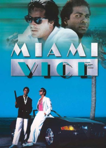 Miami Vice (TV) Poster (27 x 40 Inches - 69 cm x 102 cm (1984) Style) D-(Don Johnson) (Philip Michael Thomas) (Saundra Santiago) (Michael Talbott) (John Diehl Grégory Sierra ()) 27 X 40-tv