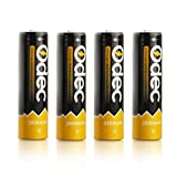 Odec 18650 Rechargeable Batteries, 4 Pac...