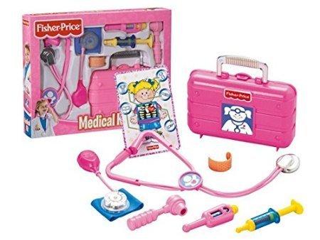 Fisher Price L5196 - Doktorkoffer, Arztkoffer in pink (Fisher Price Spielzeug-instrumente)