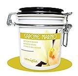NACLEAN per Pirotta - SAPONE MARINO - Scrub Idratante 490 GR - Vaniglia