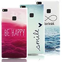 3 X Huawei P9 Lite Case Cover in Soft Silicone,