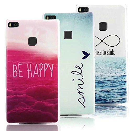 3-x-huawei-p9-lite-case-cover-in-soft-silicone-vandot-moda-creativo-ultra-sottile-colorato-pattern-c