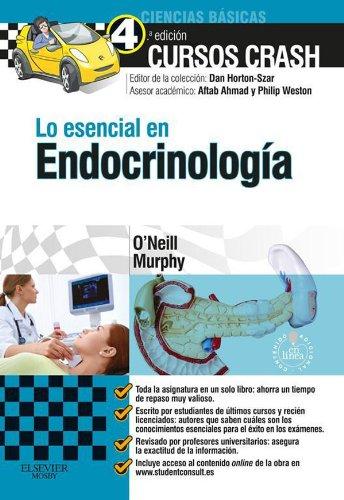 Lo esencial en Endocrinología + Studentconsult en español por Ronan O'Neill
