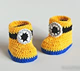 My Minion - Crochet Baby Booties for new...
