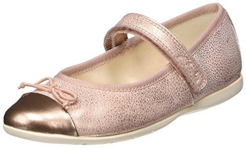 Clarks Mädchen Dance Mad Inf Geschlossene Ballerinas, Pink (Rose Gold Lea), 31 EU