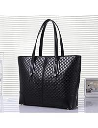 DGF Nouveau sac à bandoulière, sac de dames, sac de messager, sac à main coréen sauvage, sac à main de mode. (Couleur : Gris)