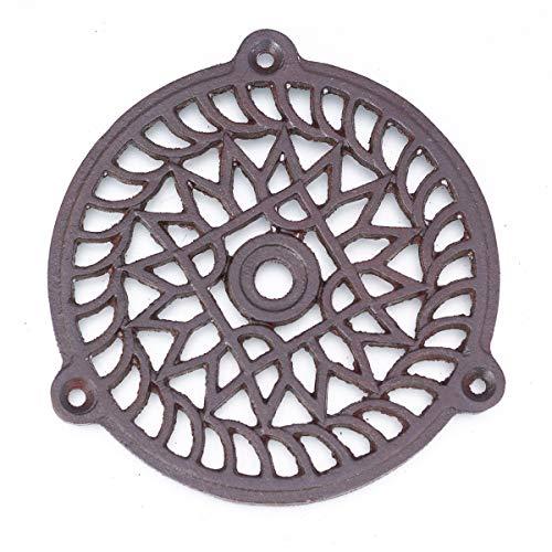 Antikas - Rejilla de ventilación para chimeneas (13 cm)