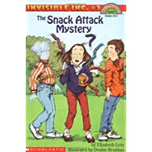 The Snack Attack Mystery (Invisible Inc., No. 3; Hello, Reader! Level 4) by Elizabeth Levy (1996-02-01)