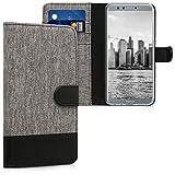 kwmobile Huawei Honor 9 Lite Hülle - Kunstleder Wallet Case für Huawei Honor 9 Lite mit Kartenfächern und Stand