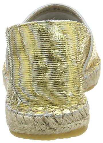 I love candies ILC Damen Espadrille, Espadrilles femme Or - Gold (Gold LD 909)