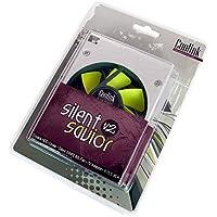 Coolink Silent Savior v2 Lemon Edition Dissipatore di Calore per Hard Disk, Nero