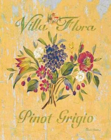 Pinot Grigio par Gladding, PAMELA – Fine Art Print Disponible sur papier et toile, Toile, SMALL (13 x 16.5 Inches )