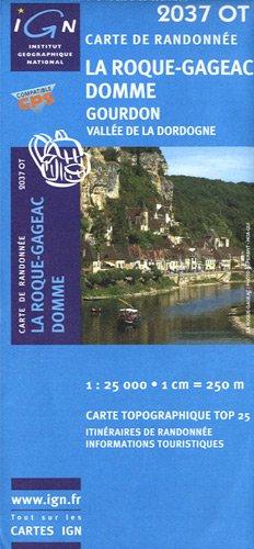 2037OT LA ROQUE-GAGEAC/DOMME/GOURDON par COLLECTIF