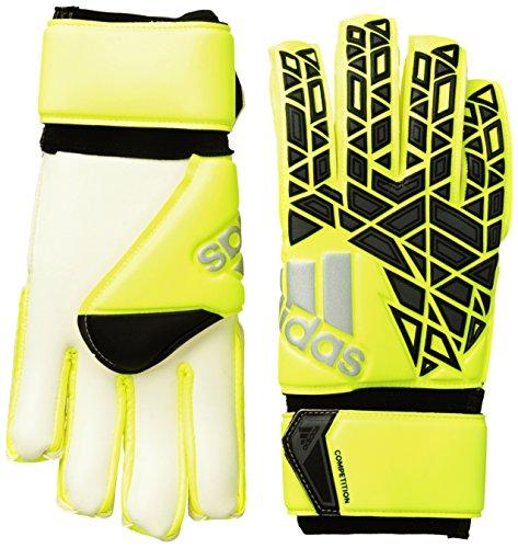 adidas Erwachsene Torwarthandschuhe ACE Competition, solar Yellow/Black/Onix, 10.5